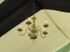 Marquee hanging lighting