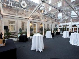 Clear Roof Marquees offer a unique look to your marquee. (5)