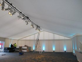 Marquee tack off interiors for your Key Structures Ltd Marquee. (1)