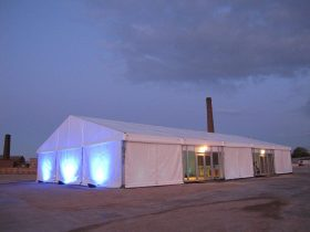 Corporate Marquee Hire by Key Structures Ltd offering a full turn key solution. (6)