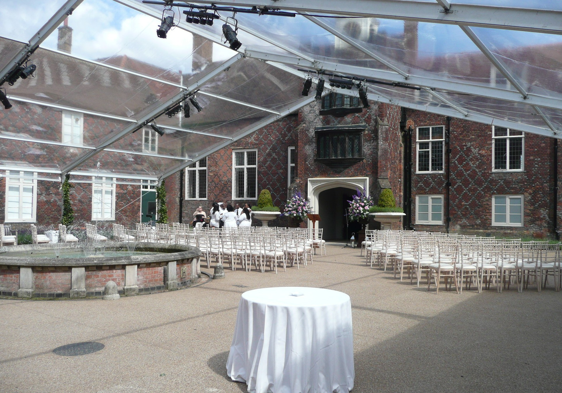 Wedding Marquee Hire Key Structures Ltd