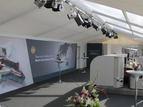 Marquee tack off interiors for your Key Structures Ltd Marquee. (16)