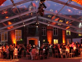 Corporate Marquee Hire by Key Structures Ltd offering a full turn key solution. (10)
