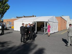 Marquee logistics for organising the set up of your marquee at your event. (10)