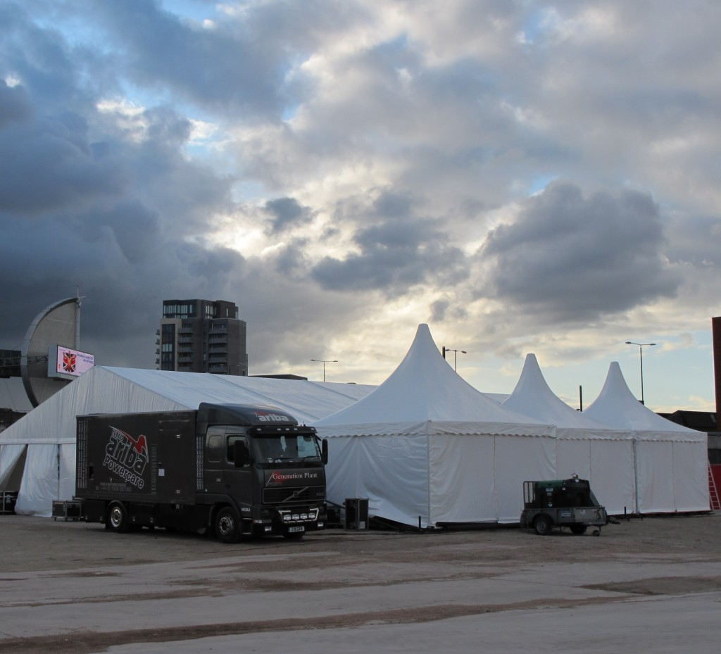 Marquee logistics for organising the set up of your marquee at your event. (1)