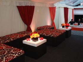 Interior furnature for your marquee hire from Key Structures Ltd. (5)