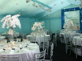 Marquee tack off interiors for your Key Structures Ltd Marquee. (4)