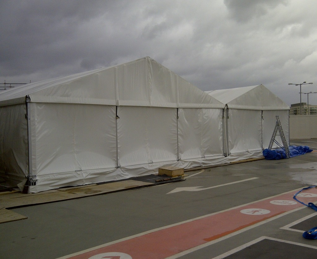Marquee logistics for organising the set up of your marquee at your event. (7)