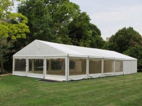 Hire a clearspan marquee today from Key Structures London