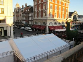 Marquee hire for commercial applications available from Key Structures Ltd (8)