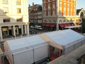 Marquee logistics for organising the set up of your marquee at your event. (8)