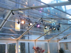 Clear Roof Marquees offer a unique look to your marquee. (6)