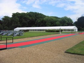 Clearspan Marquees available are a flexible solution for any event. (2)