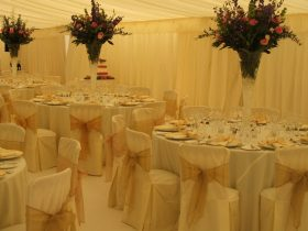 Interior furnature for your marquee hire from Key Structures Ltd. (8)