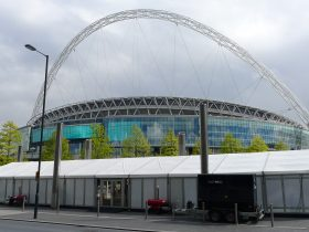 Wembley event marquee hire from Key Structures Ltd