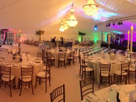 Private marquee party hire, contact Key Structures Ltd