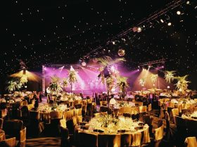 Corporate Marquee Hire by Key Structures Ltd offering a full turn key solution. (5)