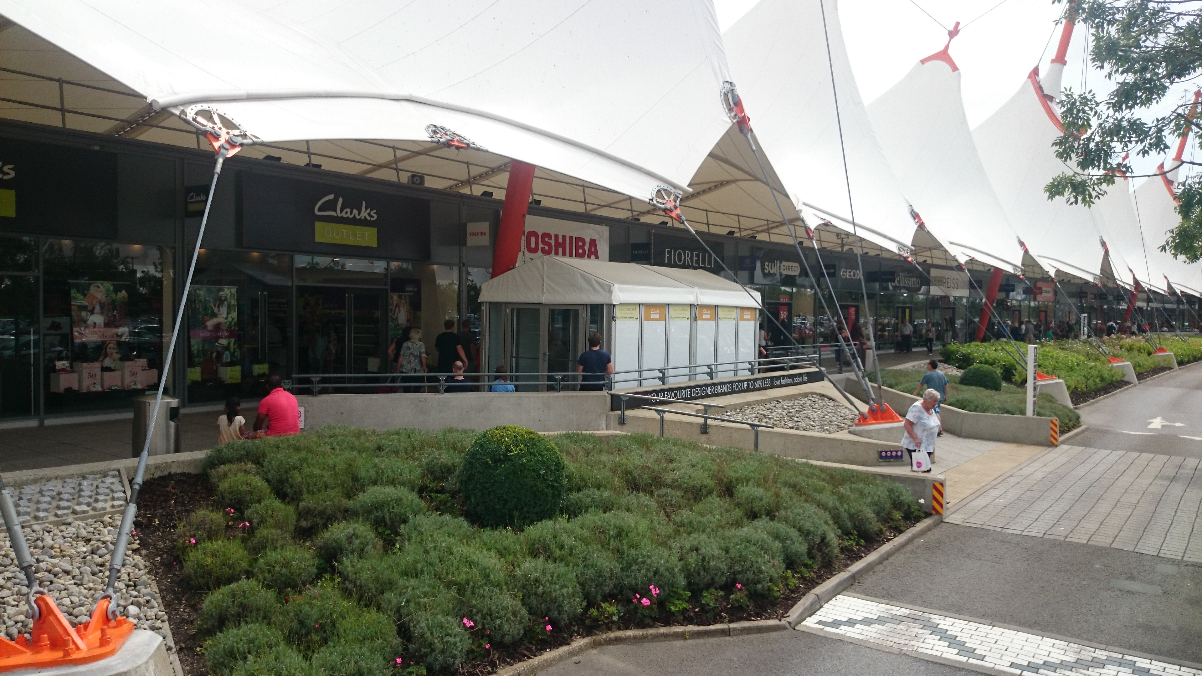 Hard Sided Marquee Ashford Designer Outlet Key Structures