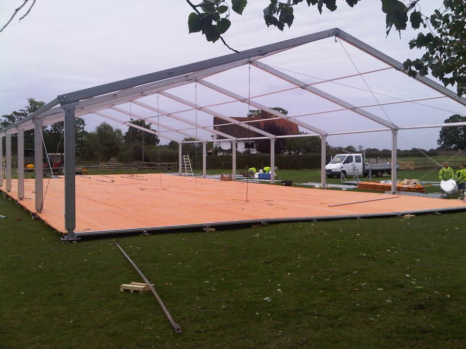 Marquee Flooring And Levelling What We Do Key Structures