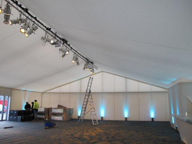 Marquee Lighting Hire Key Structures Ltd